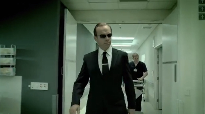 GE Commercial Agent Smith Digital Afro